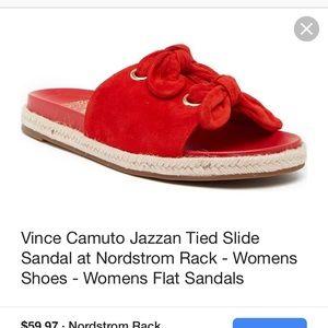 ISO Vince Camuto Jazzan Tied Slide sandal